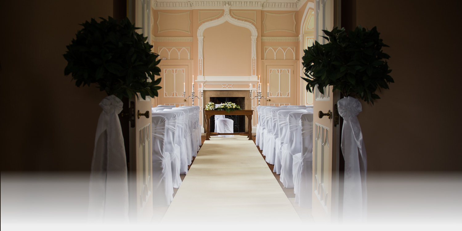exton park fort henry civil ceremony wedding marquee